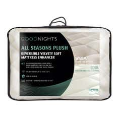 Good Nights All Seasons Plush Reversible Mattress Enhancer