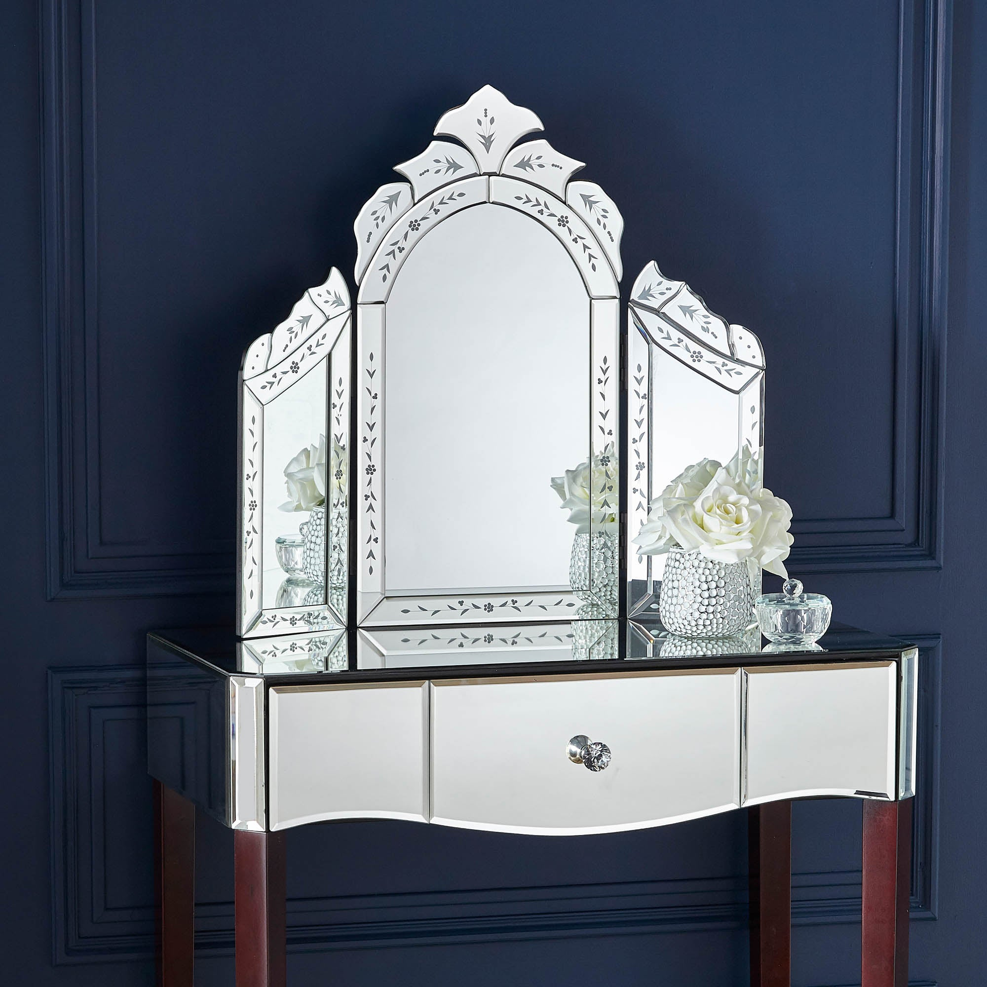 Venetian dressing table mirror shop for cheap products for Cheap dressing table with mirror