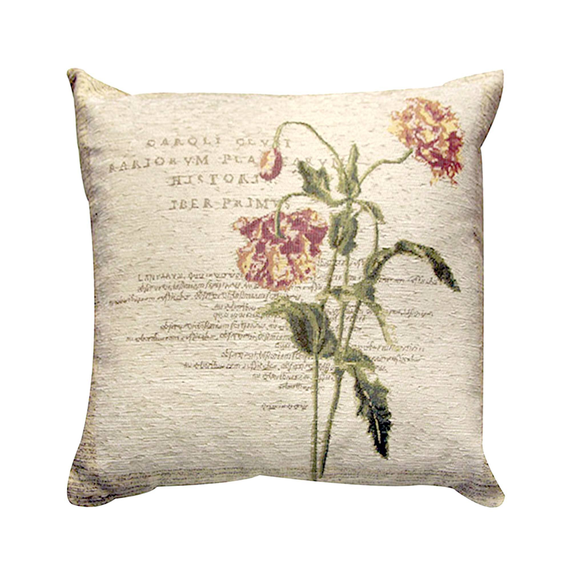 Natural Carnation Collection Cushion