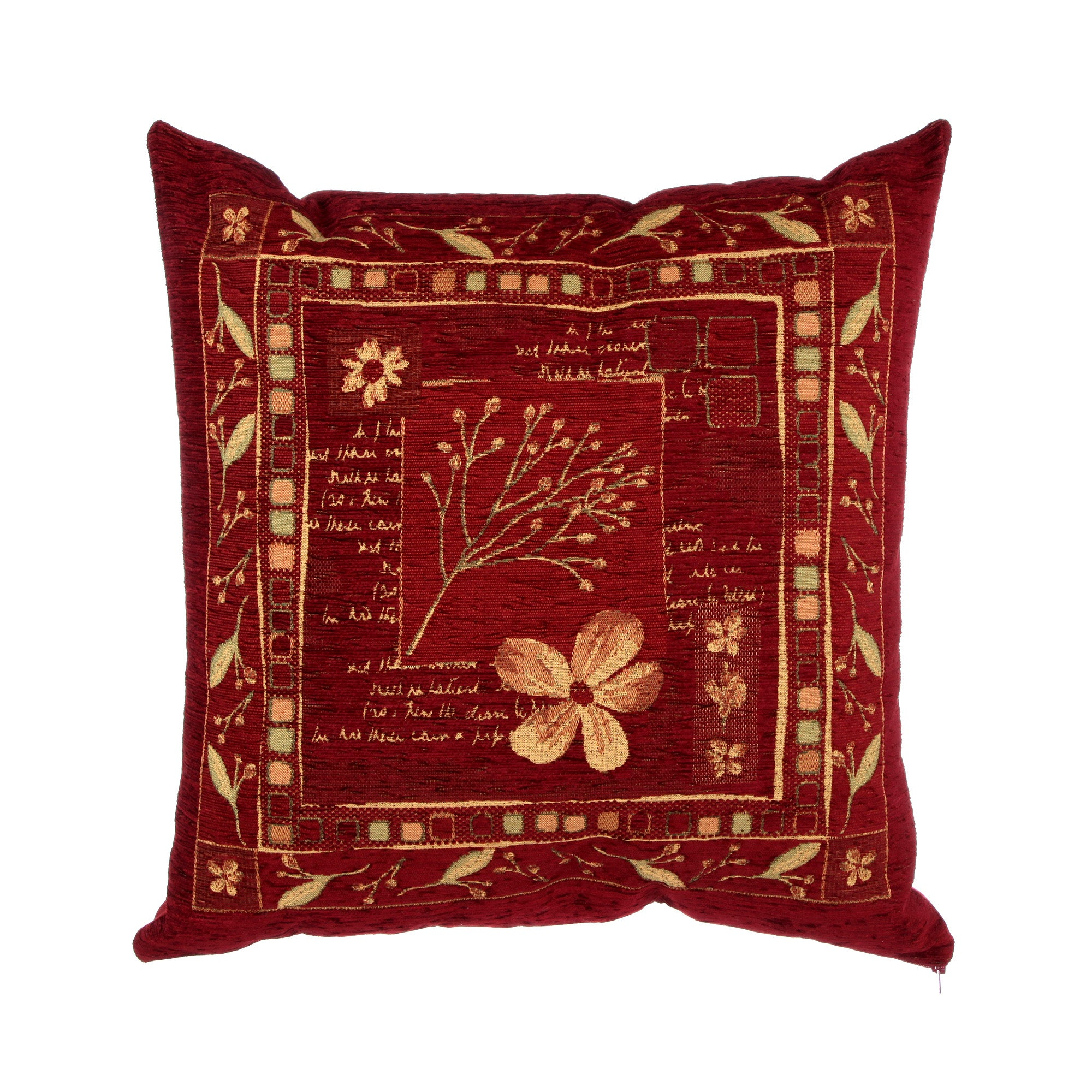 Wine Juniper Cushion