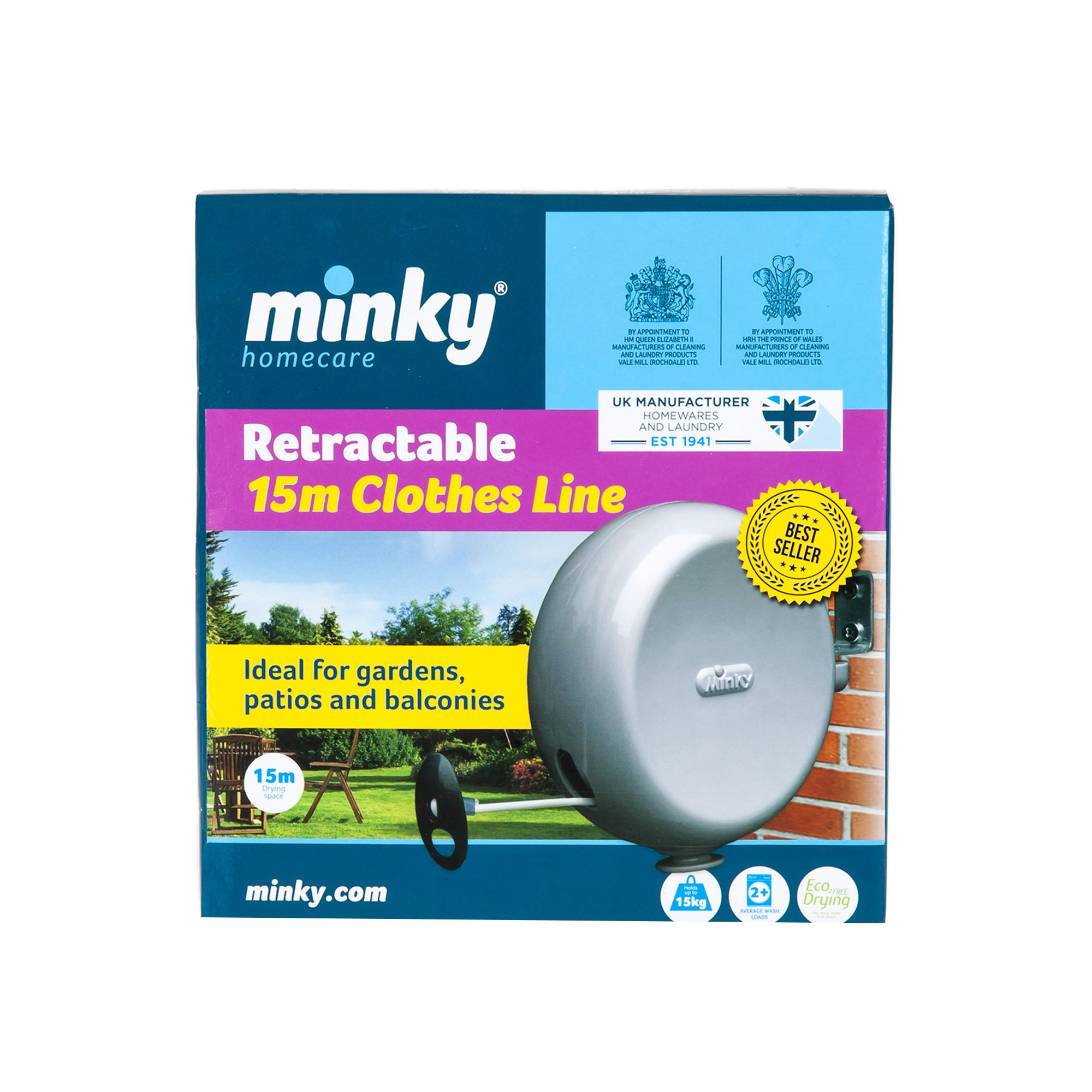 Minky Retractable Line
