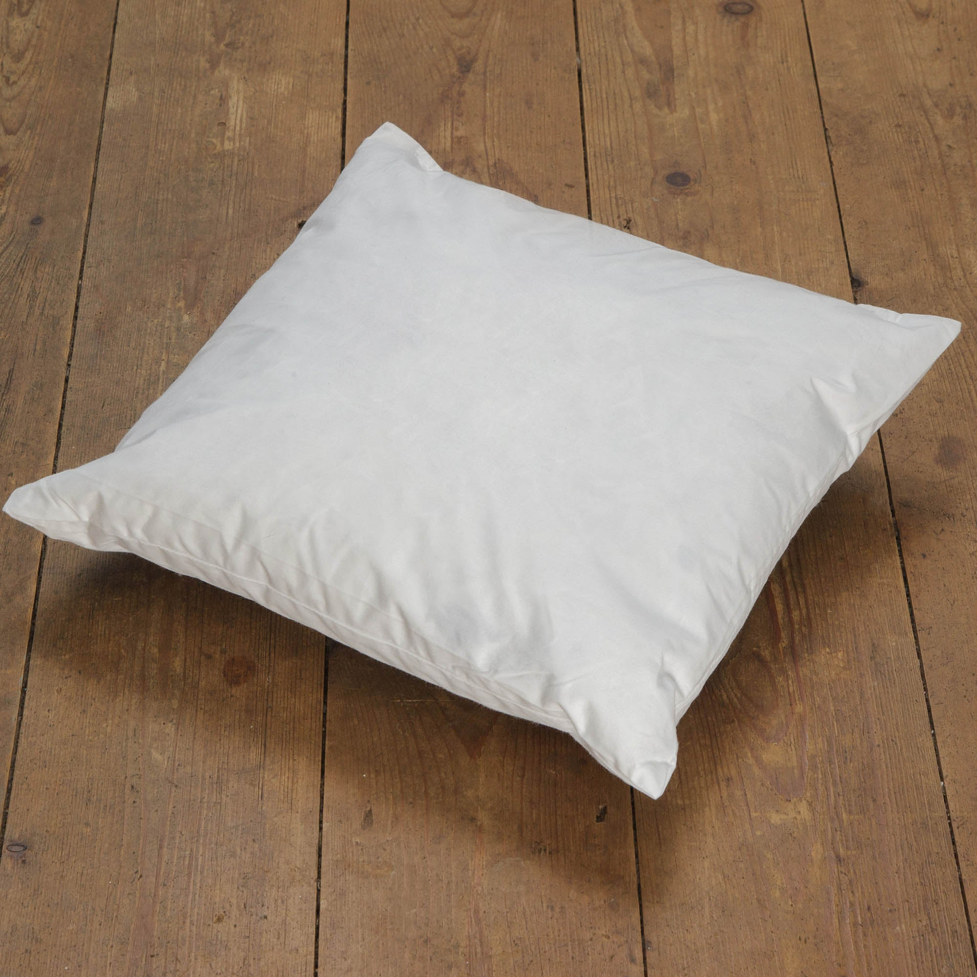 Ecru Duck Feather Cushion Pad