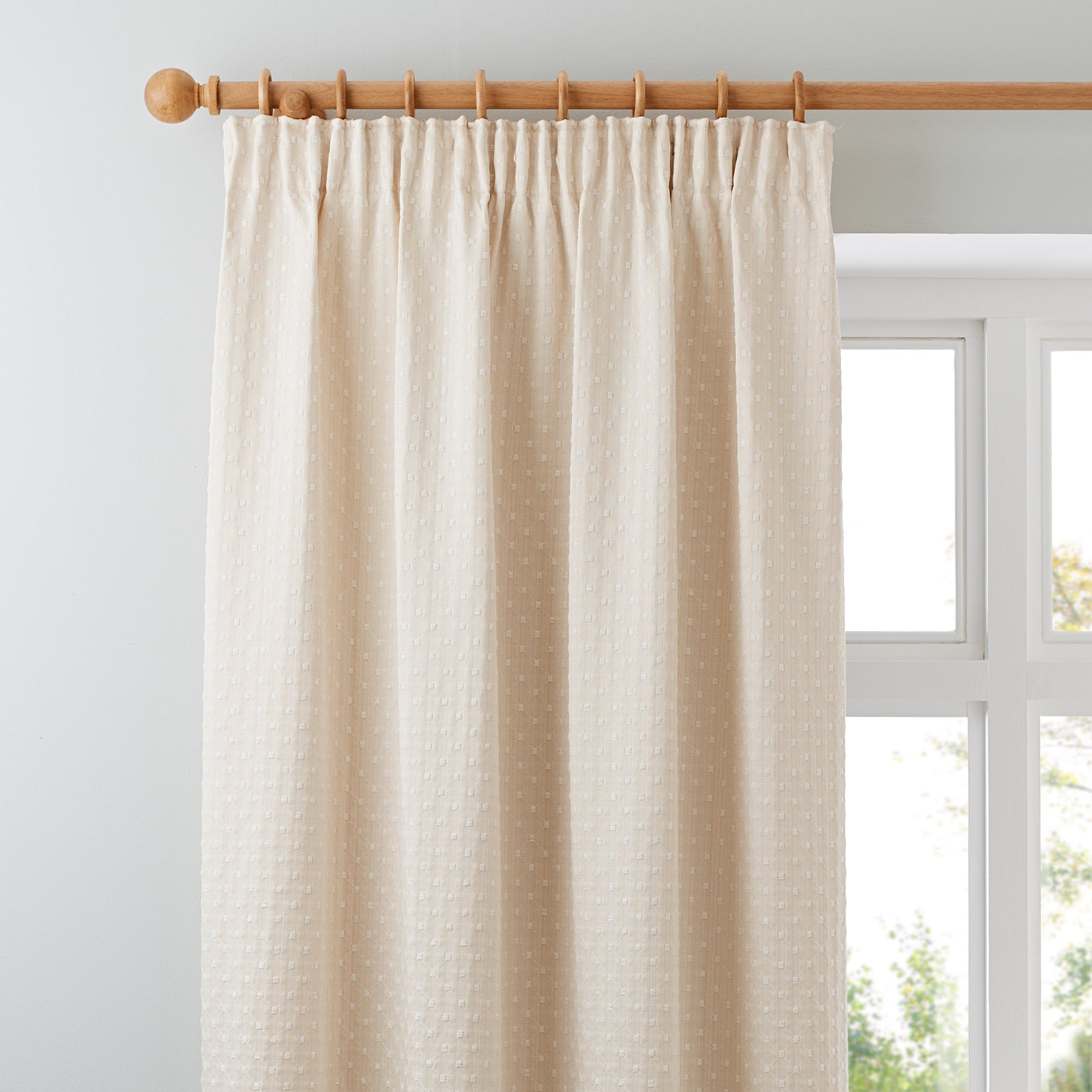 Natural Omega Curtain Collection