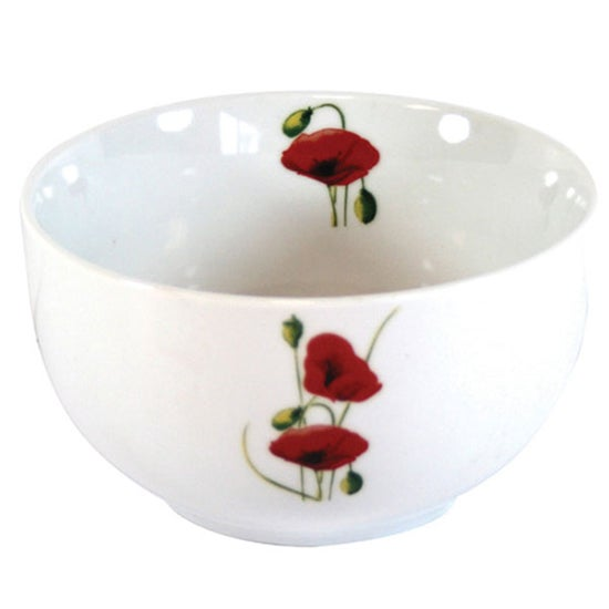 Poppy Collection Rice Bowl