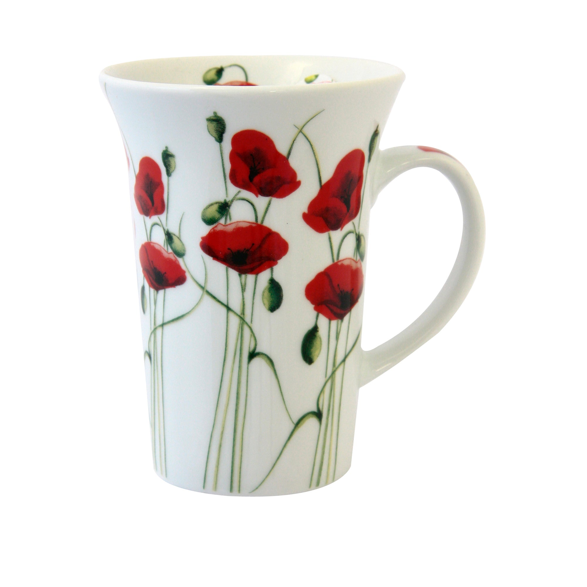 Poppy Collection Flared Mug