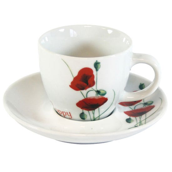 Poppy Collection Cup and Saucer