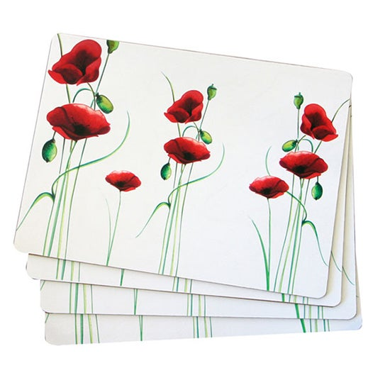 Poppy Collection Placemats