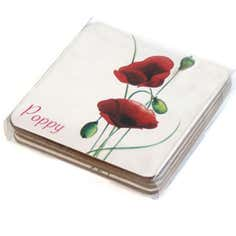 Poppy Collection Coasters