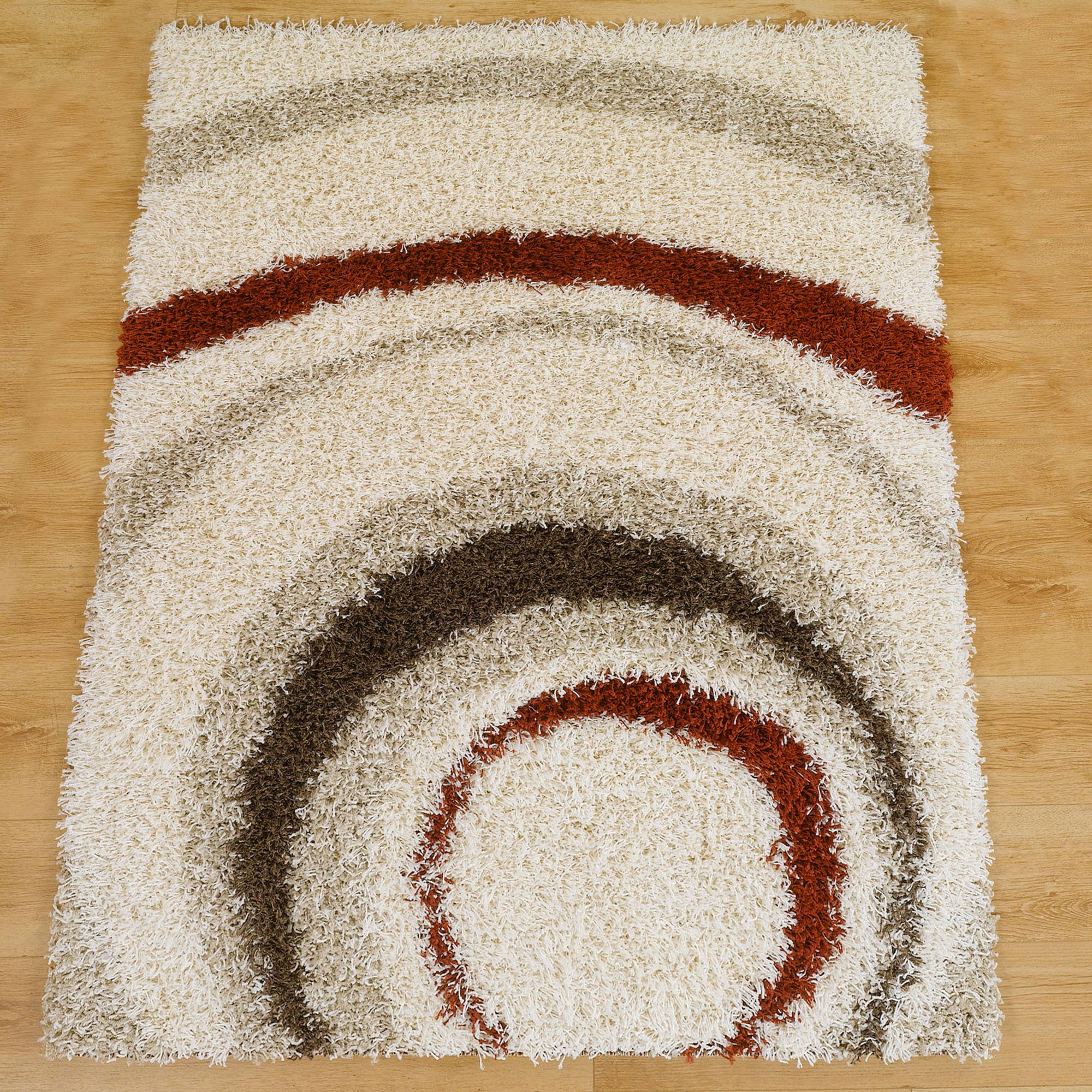 Ivory Meribel Shaggy Rug