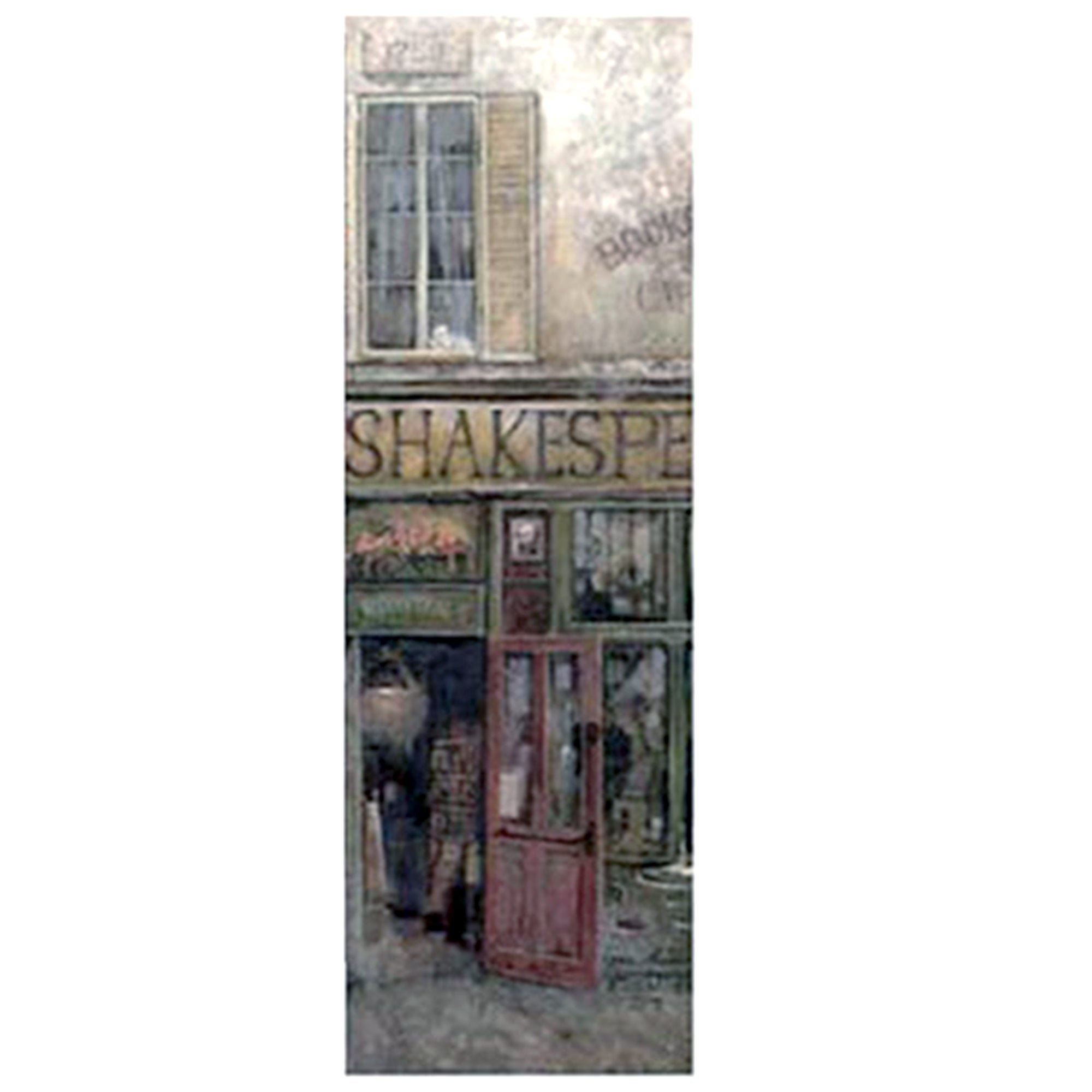 Shakespeare's Cafe Street Scene Printed Canvas