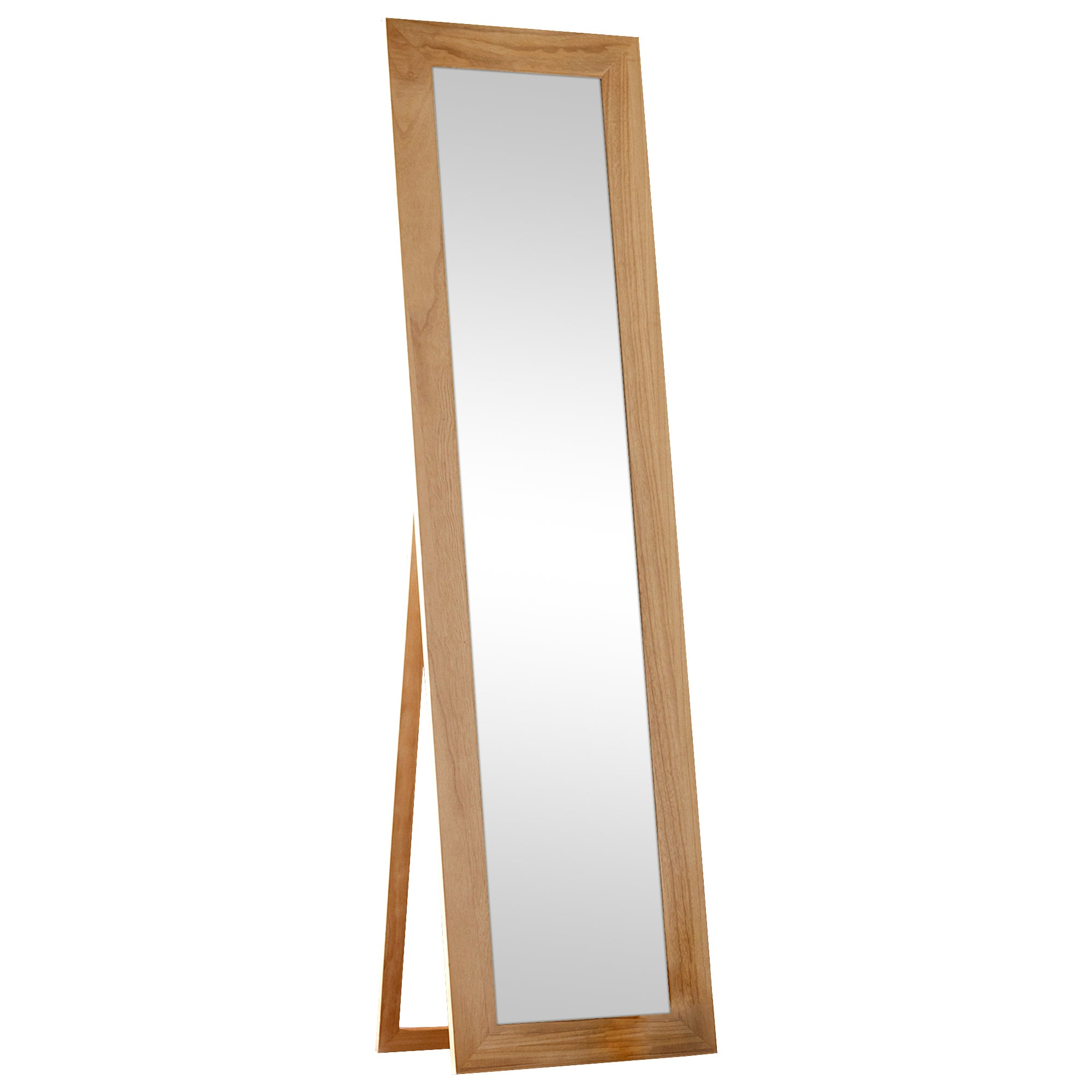 Tall Real Wood Frame Mirror