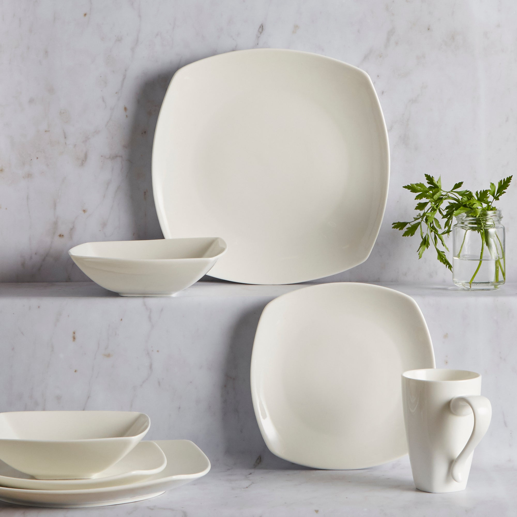 Pausa Collection 16 Piece Dinner Set