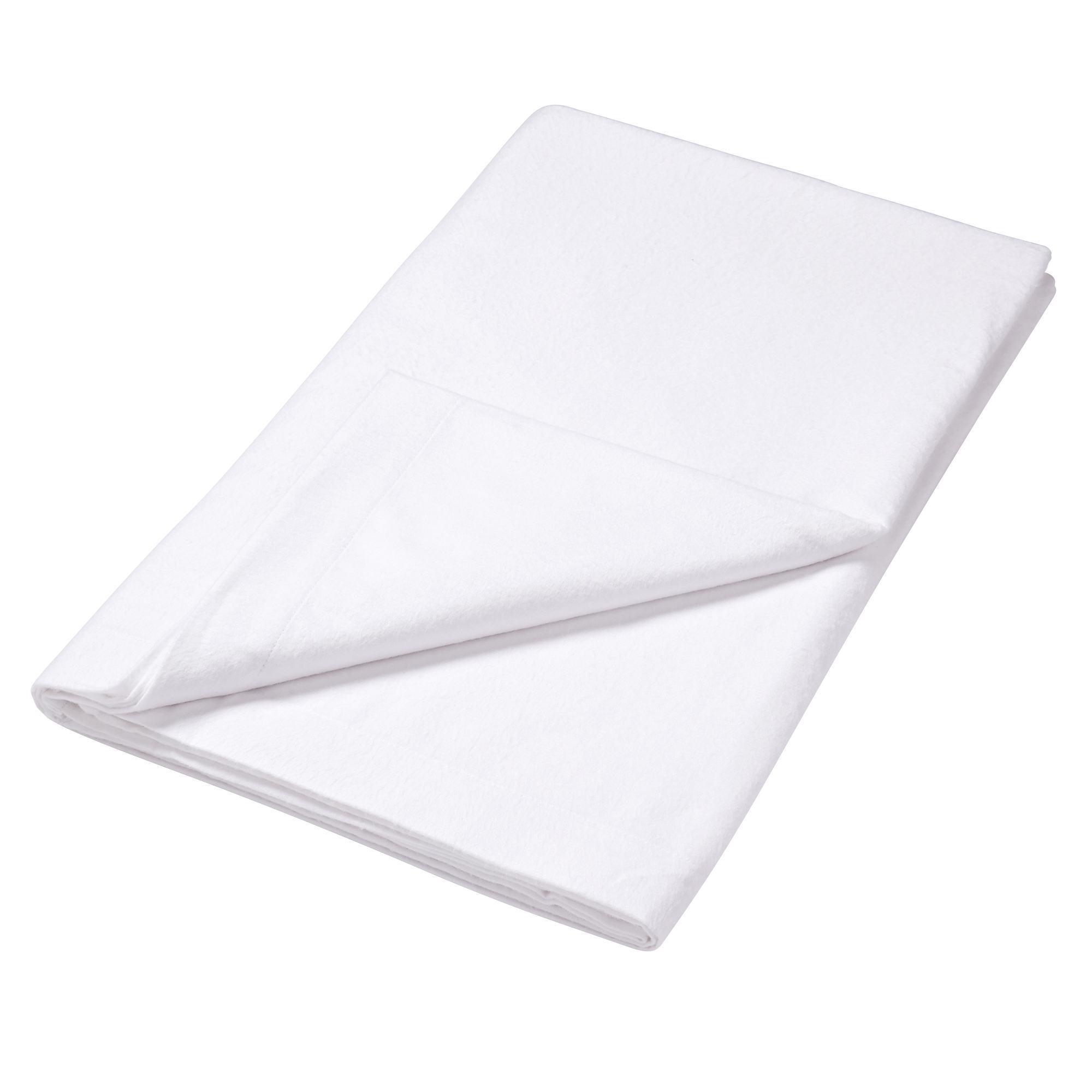 Luxury Brushed Cotton Flannelette Collection Flat Sheet