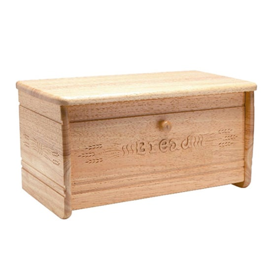 T & G Wood Bread Bin