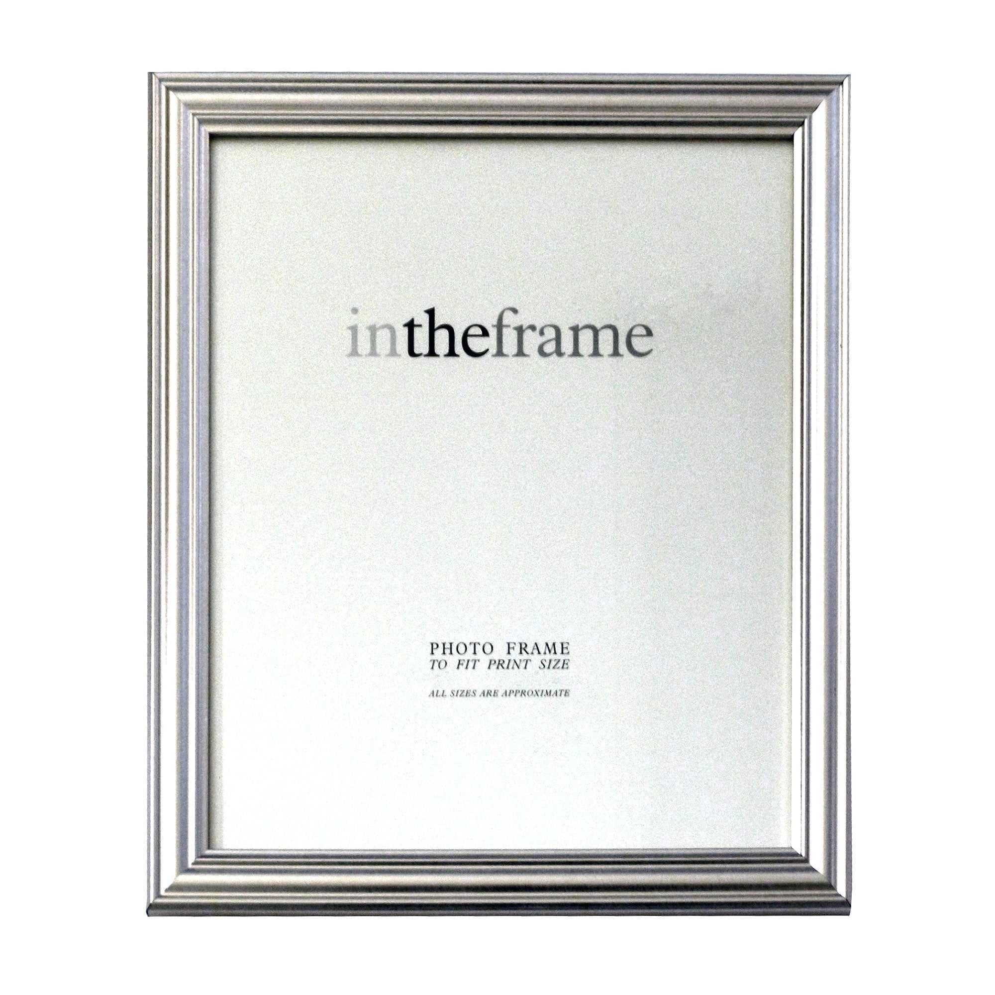 Silver Classic Photo Frame