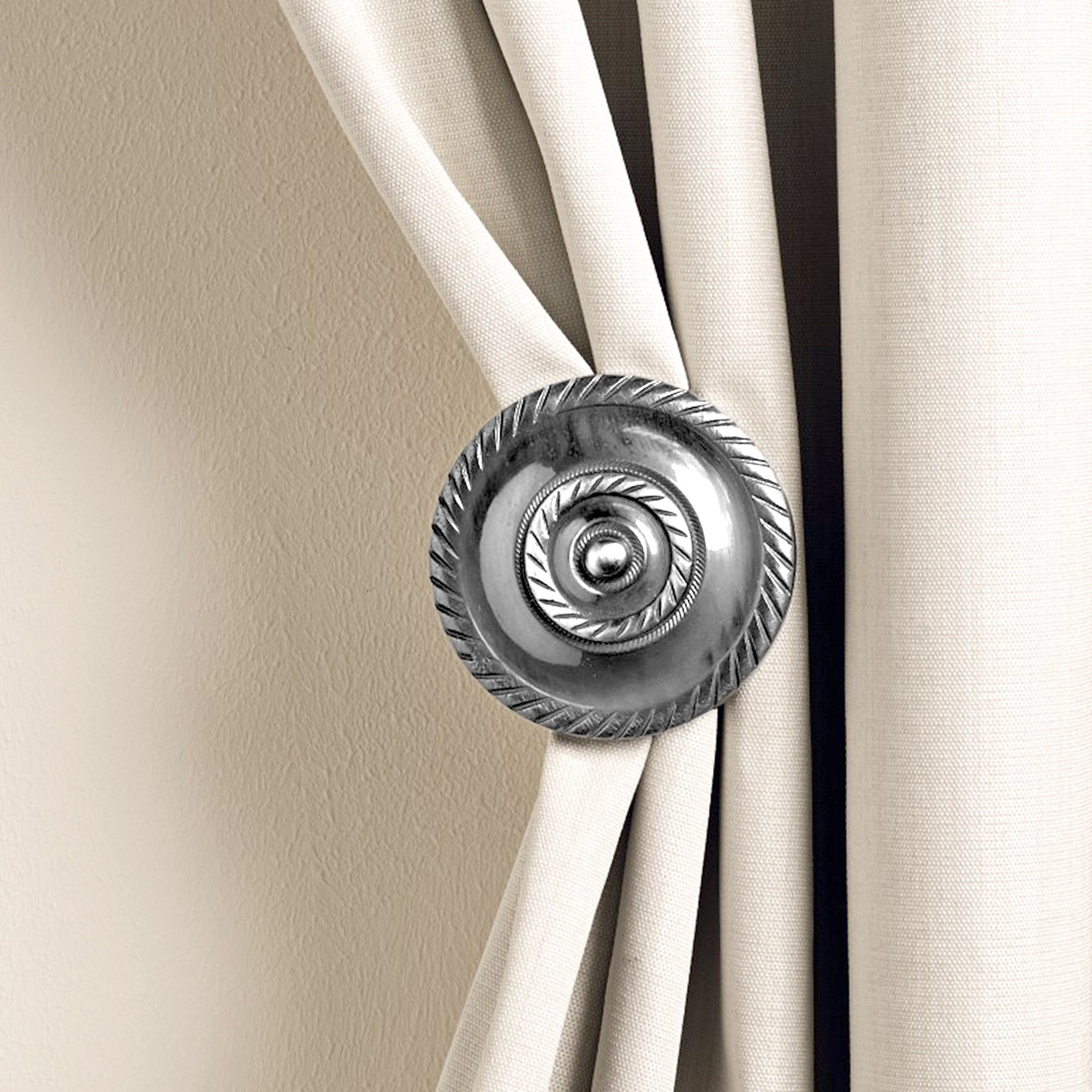 Medallion Curtain Holdbacks