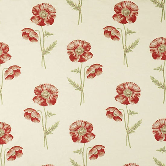 Penistone Poppy Fabric