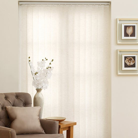 Linen Vertical Blind