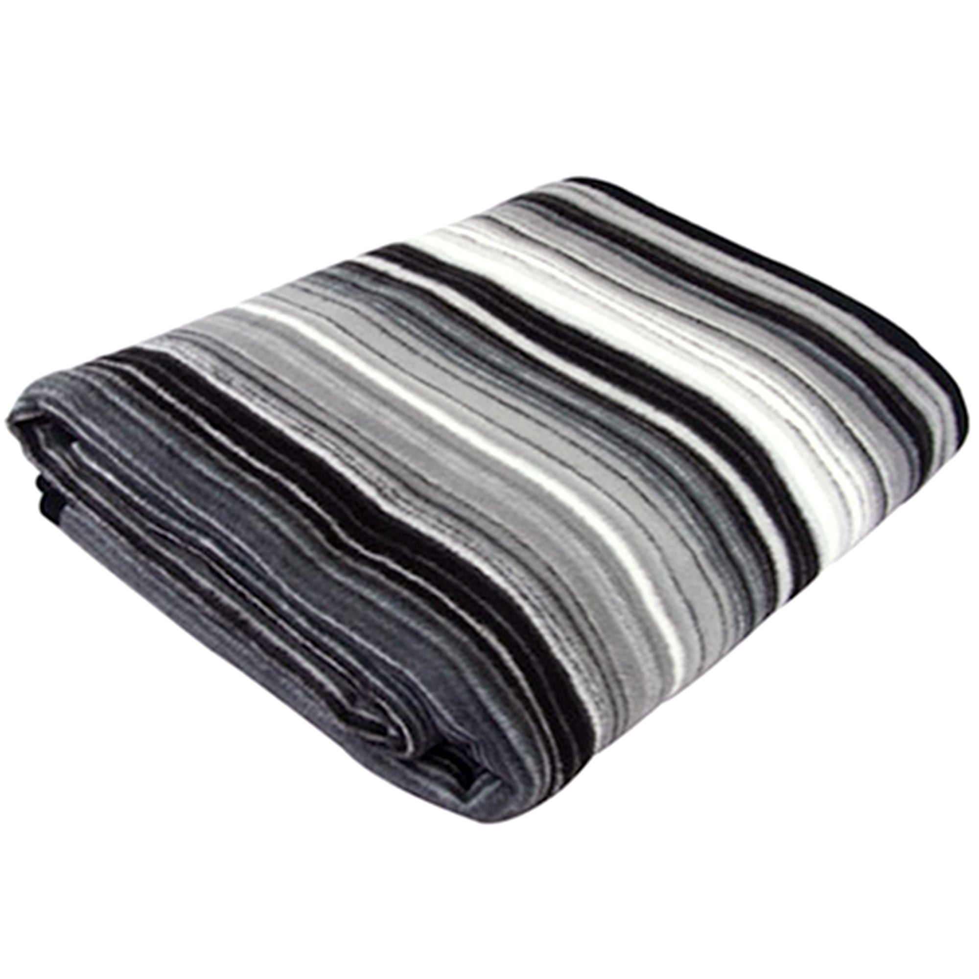 Thermosoft Charcoal Safari Blanket