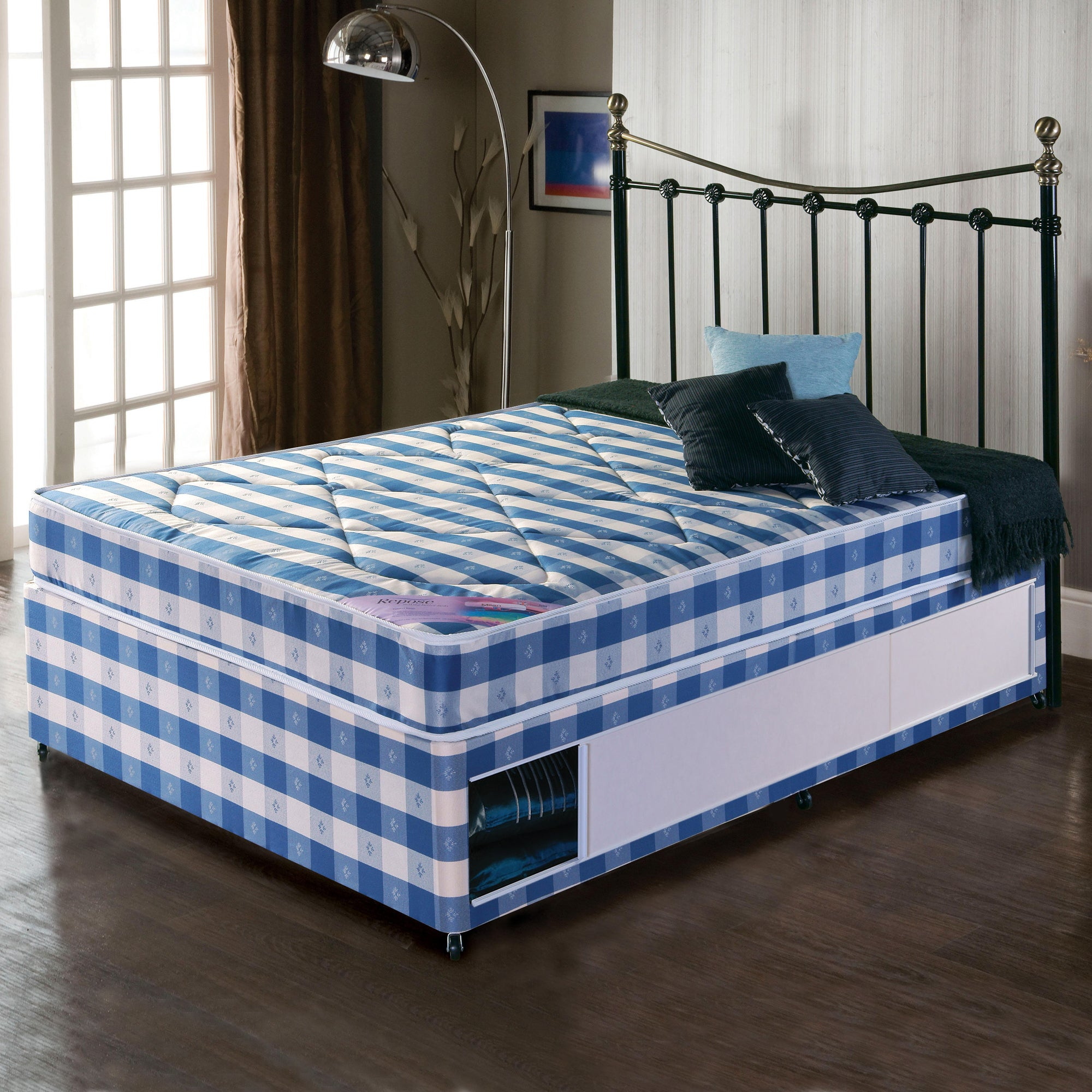 Quilted Comfort Slider Divan Bed