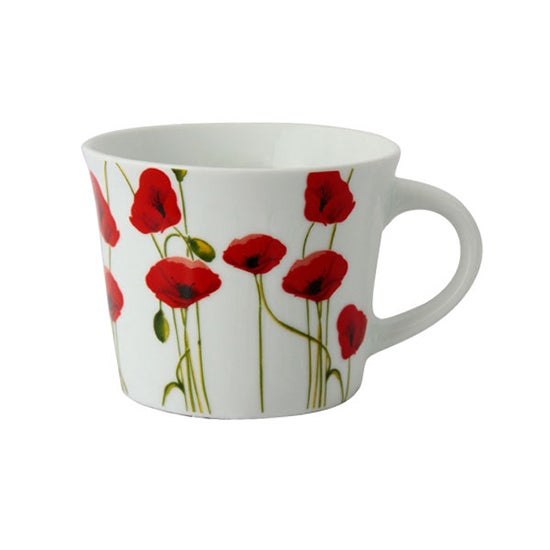 Poppy Collection Breakfast Mug