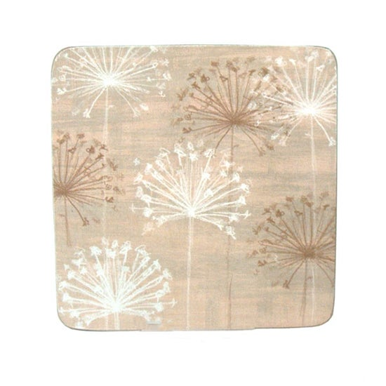 Cream Neutral Allium Coasters