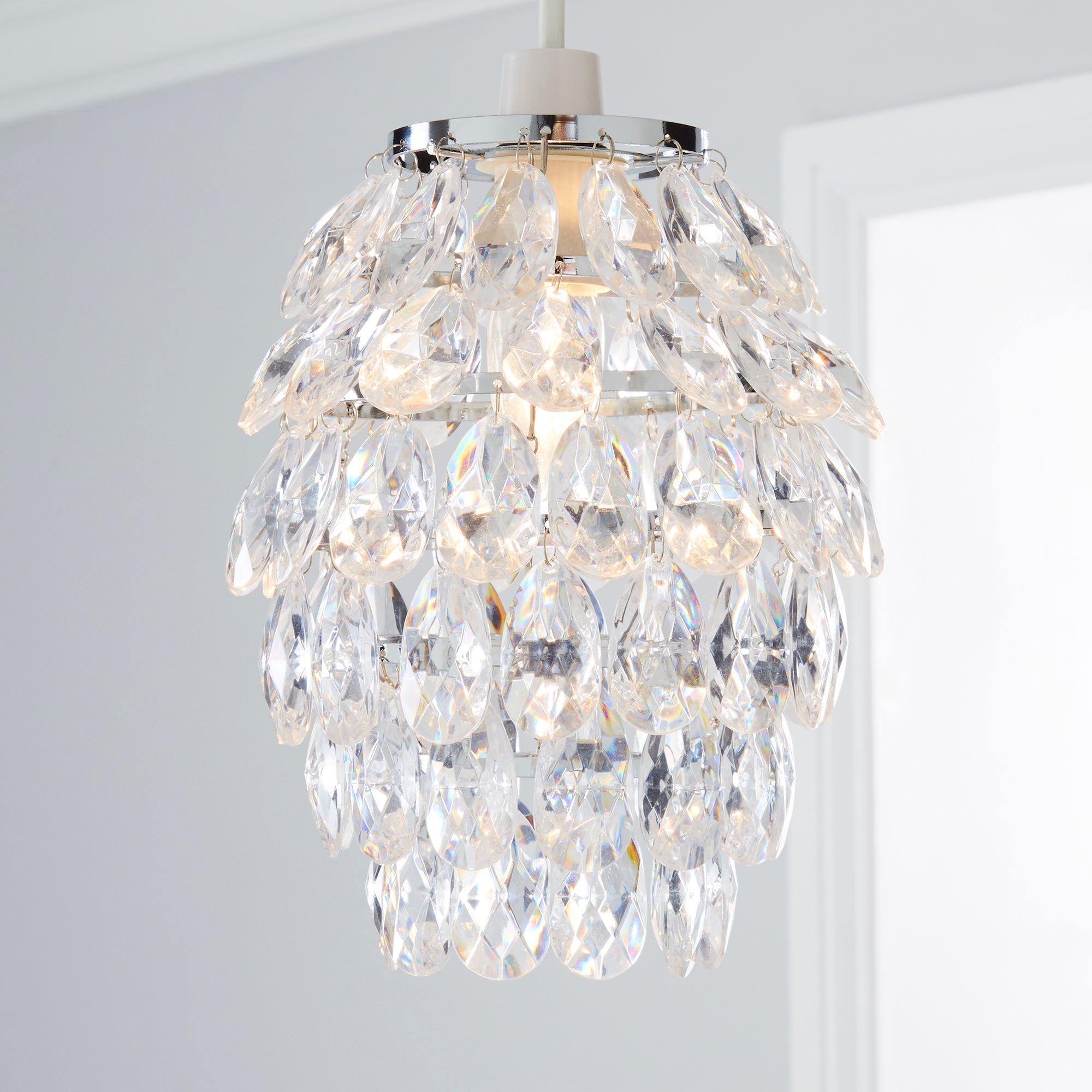 Pineapple Acrylic Ceiling Pendant Shade