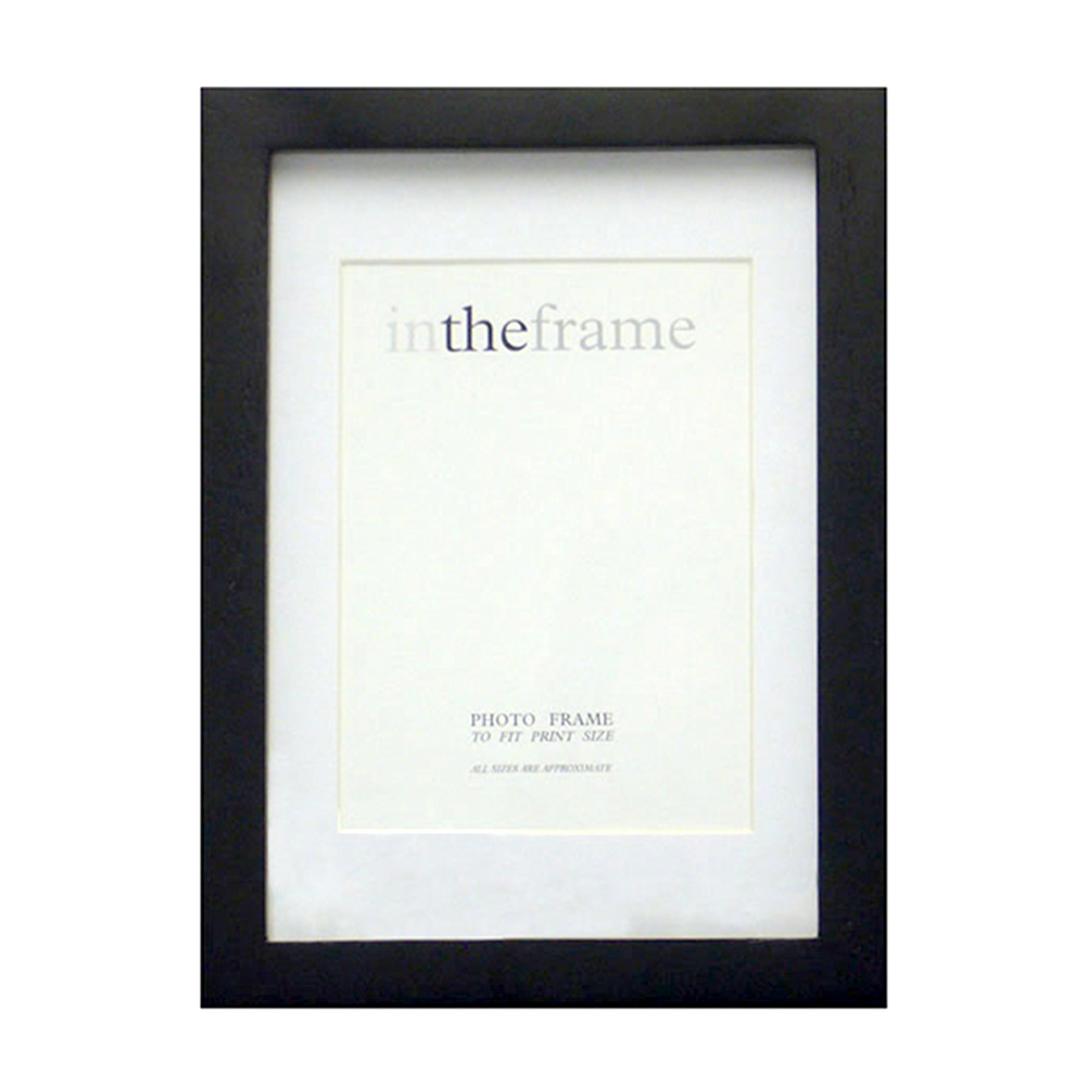 Mounted Box Black Frame