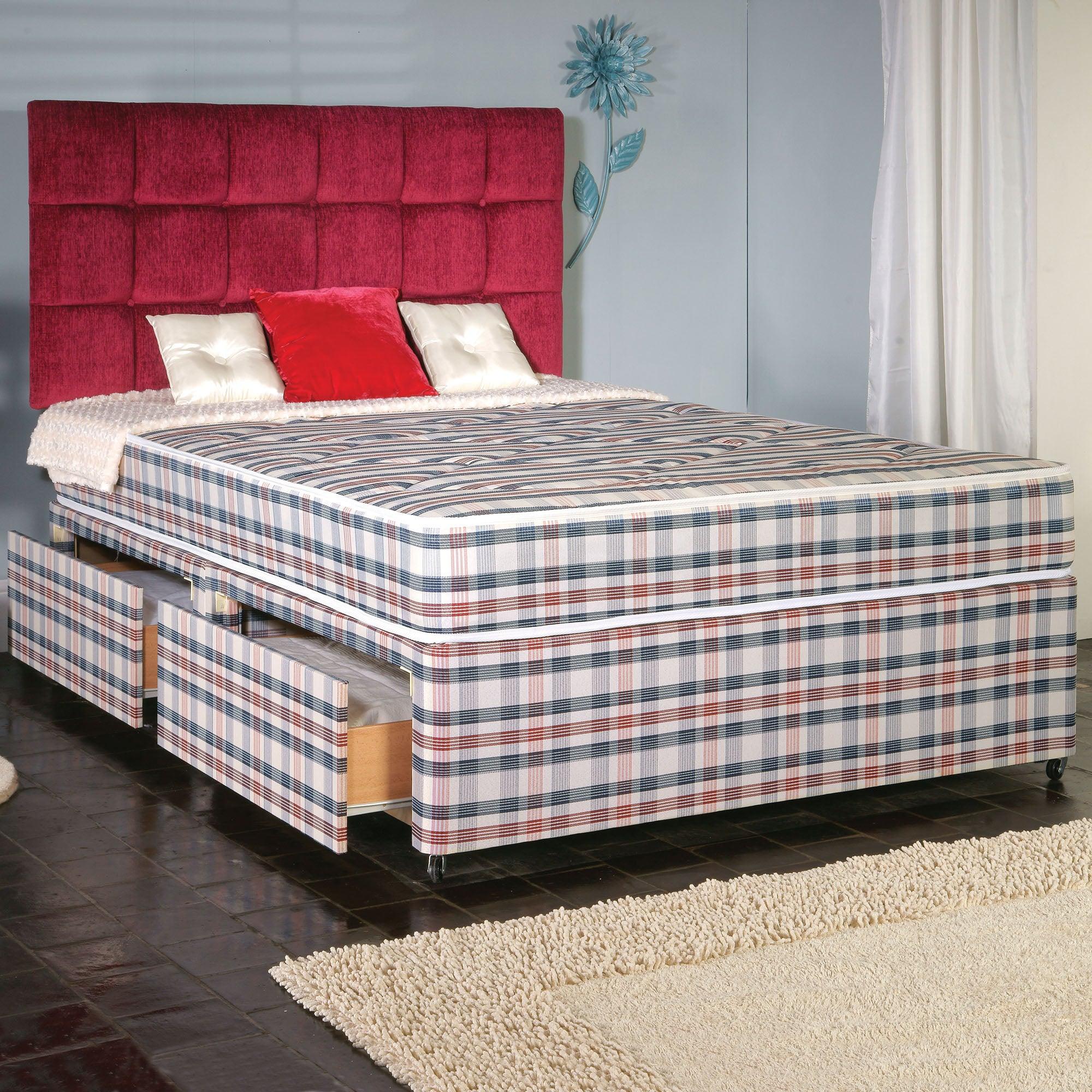 Posture Comfort 2 Drawer Platform Divan Bed