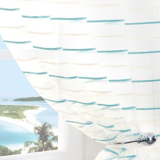 Aqua Pacific Voile Panel