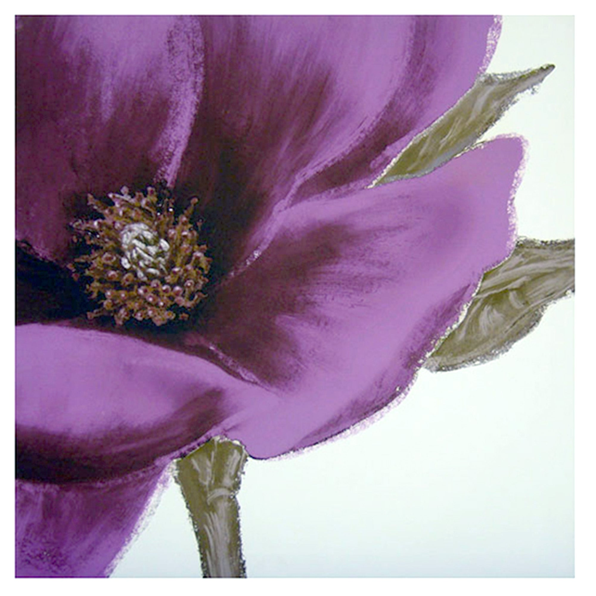 Anemone Printed Canvas