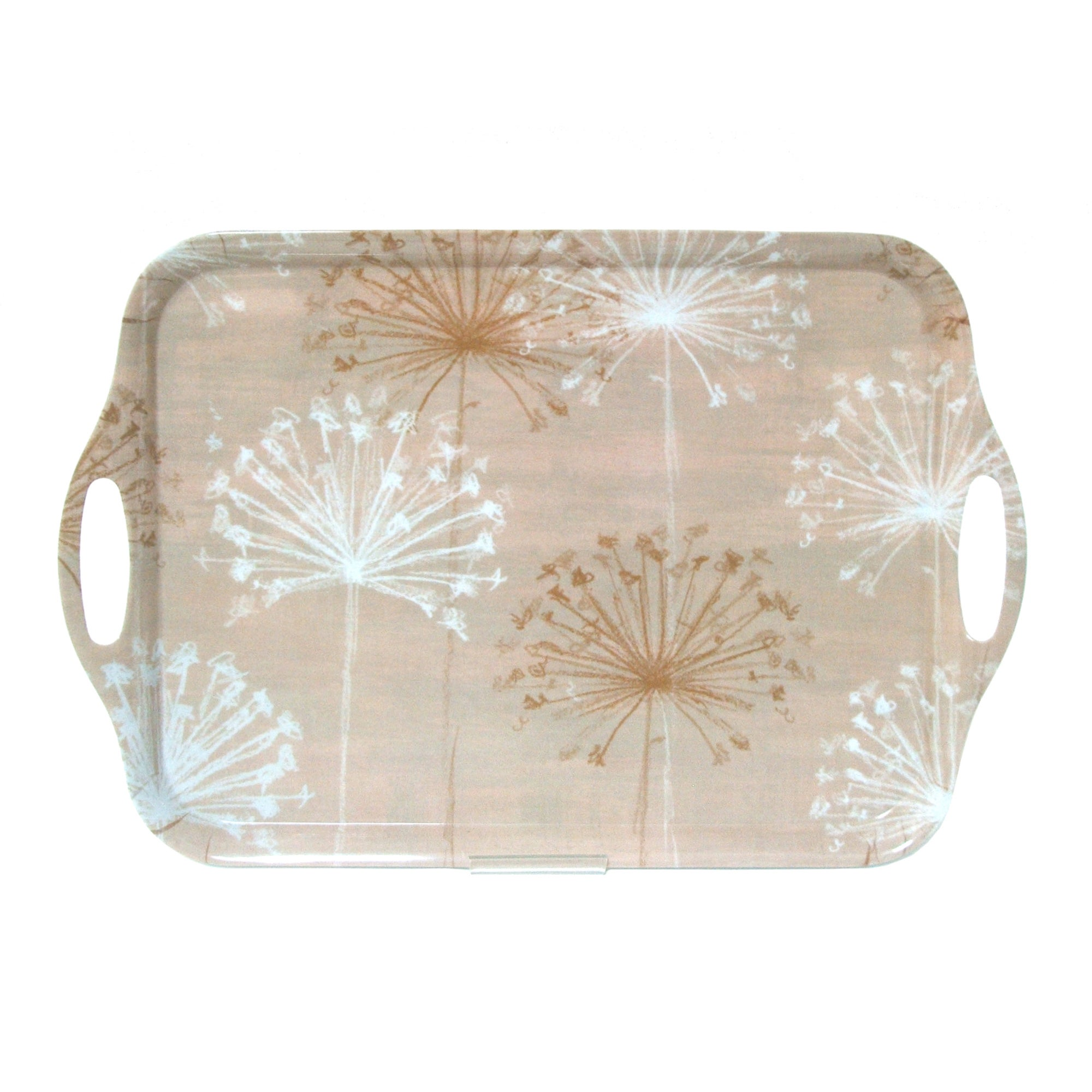 Natural Allium Handled Tea Tray