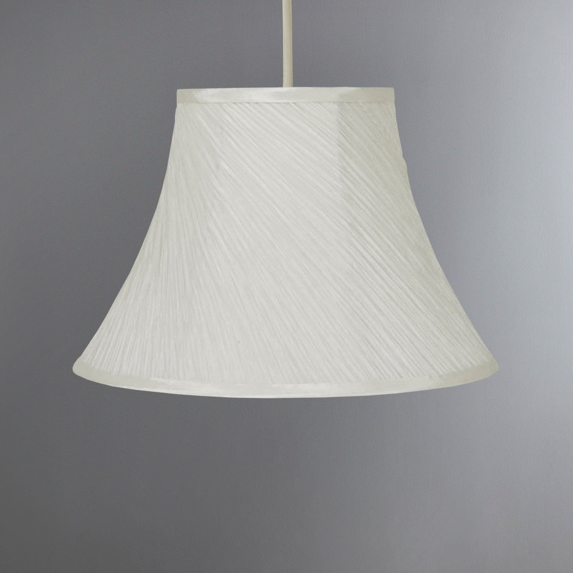 Swirl Mushroom Pleat Lampshade