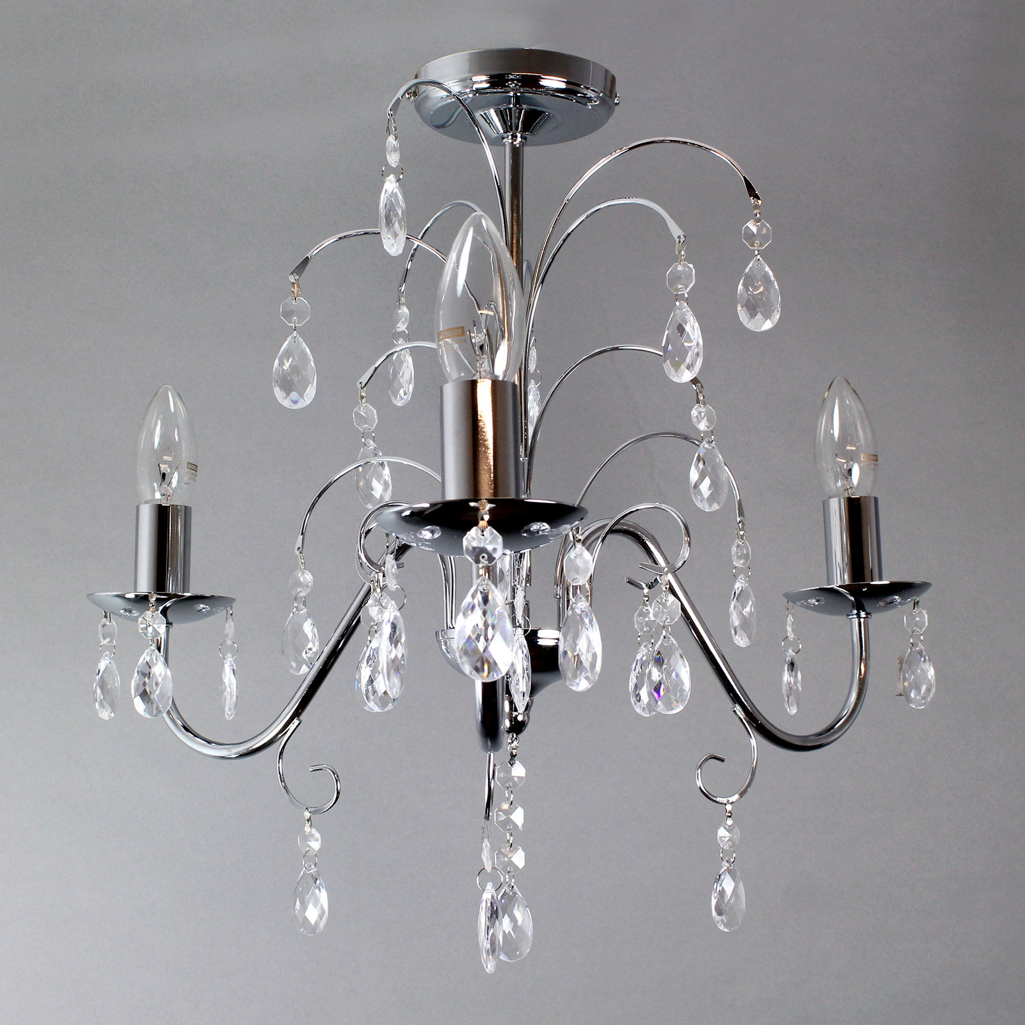 Madisson 3 Light Fitting Chrome