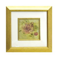 Framed Print with Antique Rose Slip