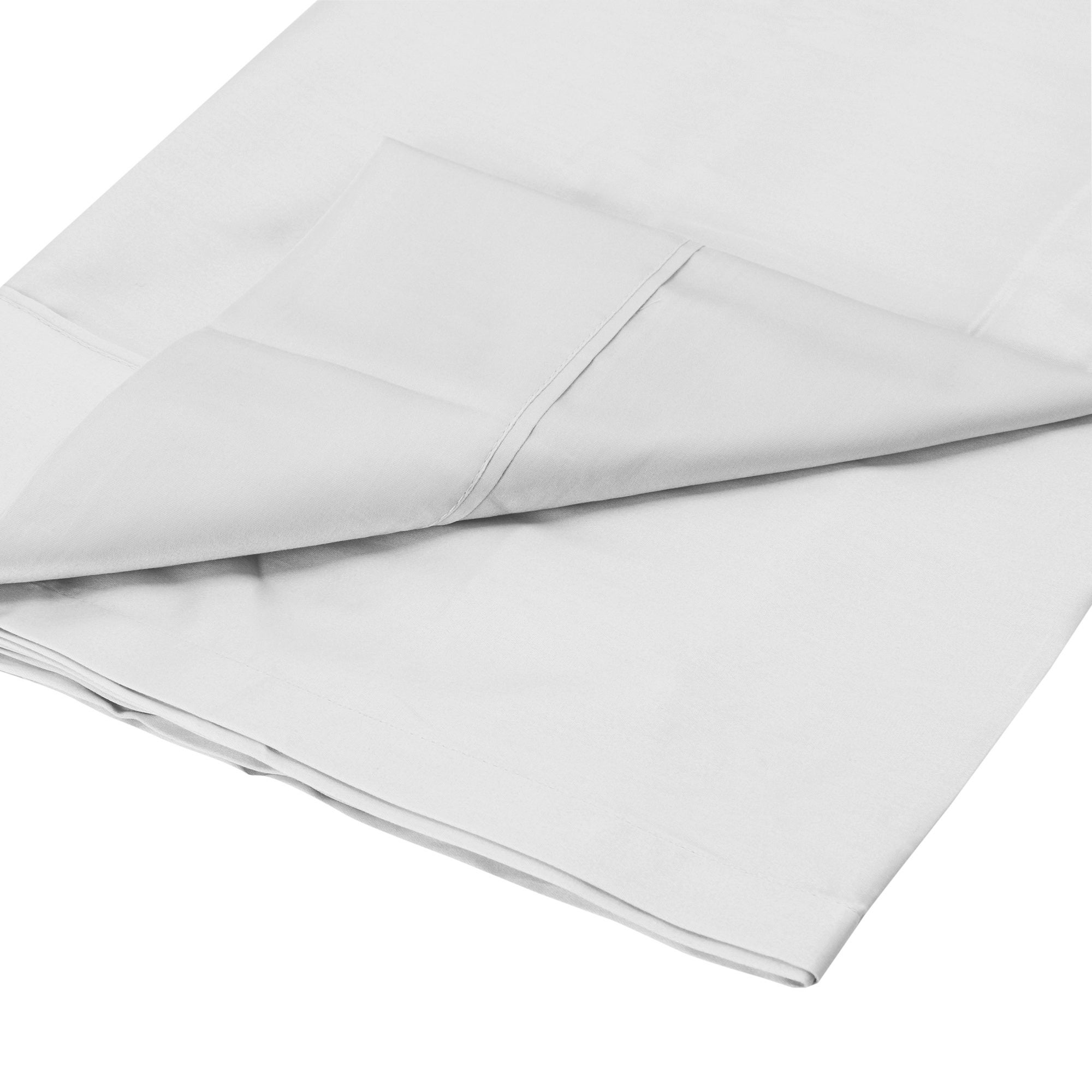 Dorma 350 Thread Count Plain Dye Collection Flat Sheet