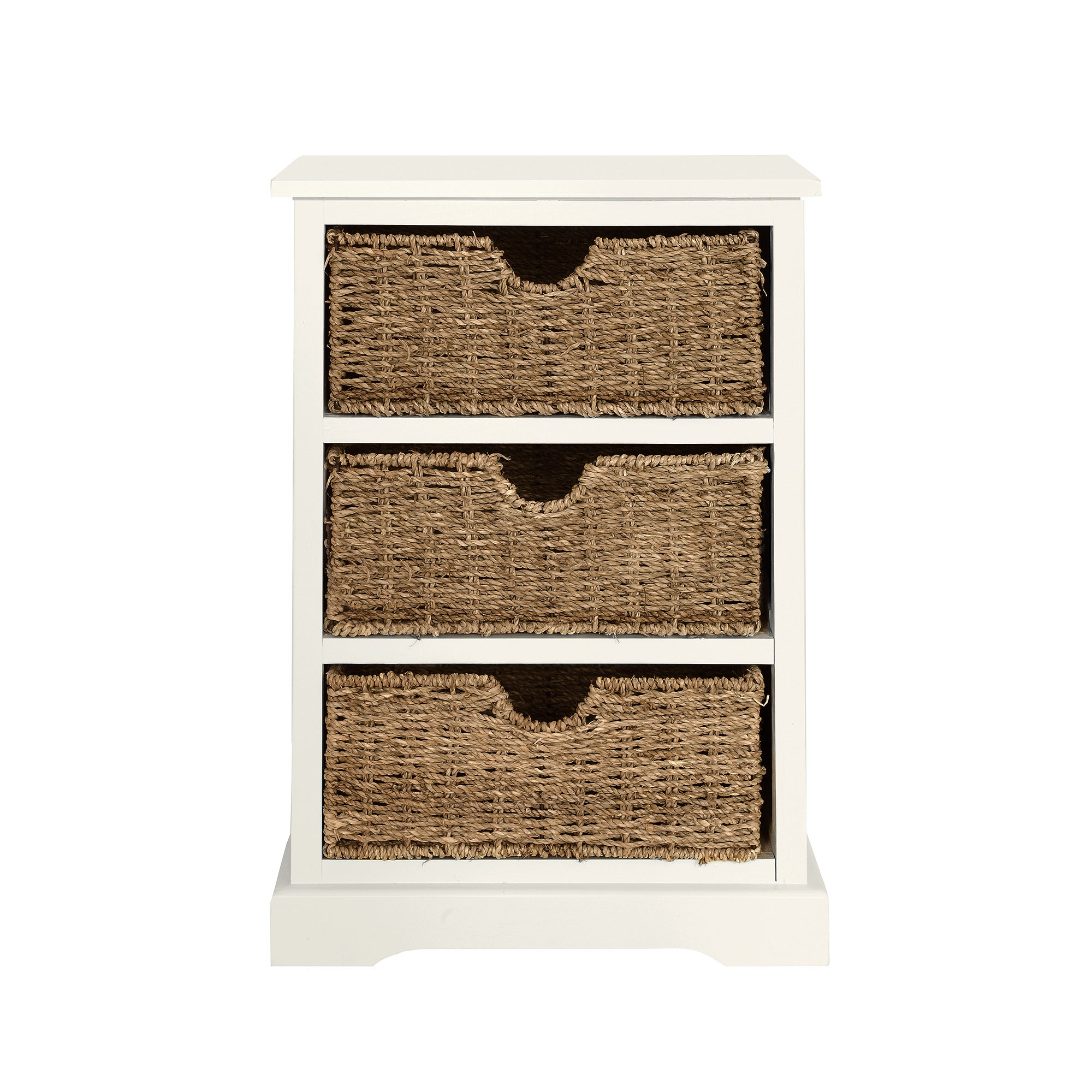 Cottage Ivory Bedside Chest