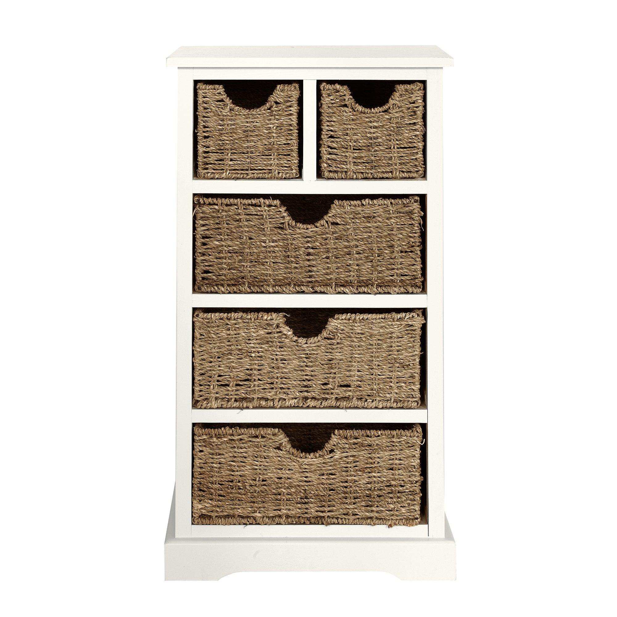 cottage ivory chest of drawers dunelm. Black Bedroom Furniture Sets. Home Design Ideas