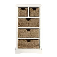 Cottage Cream Chest of Drawers