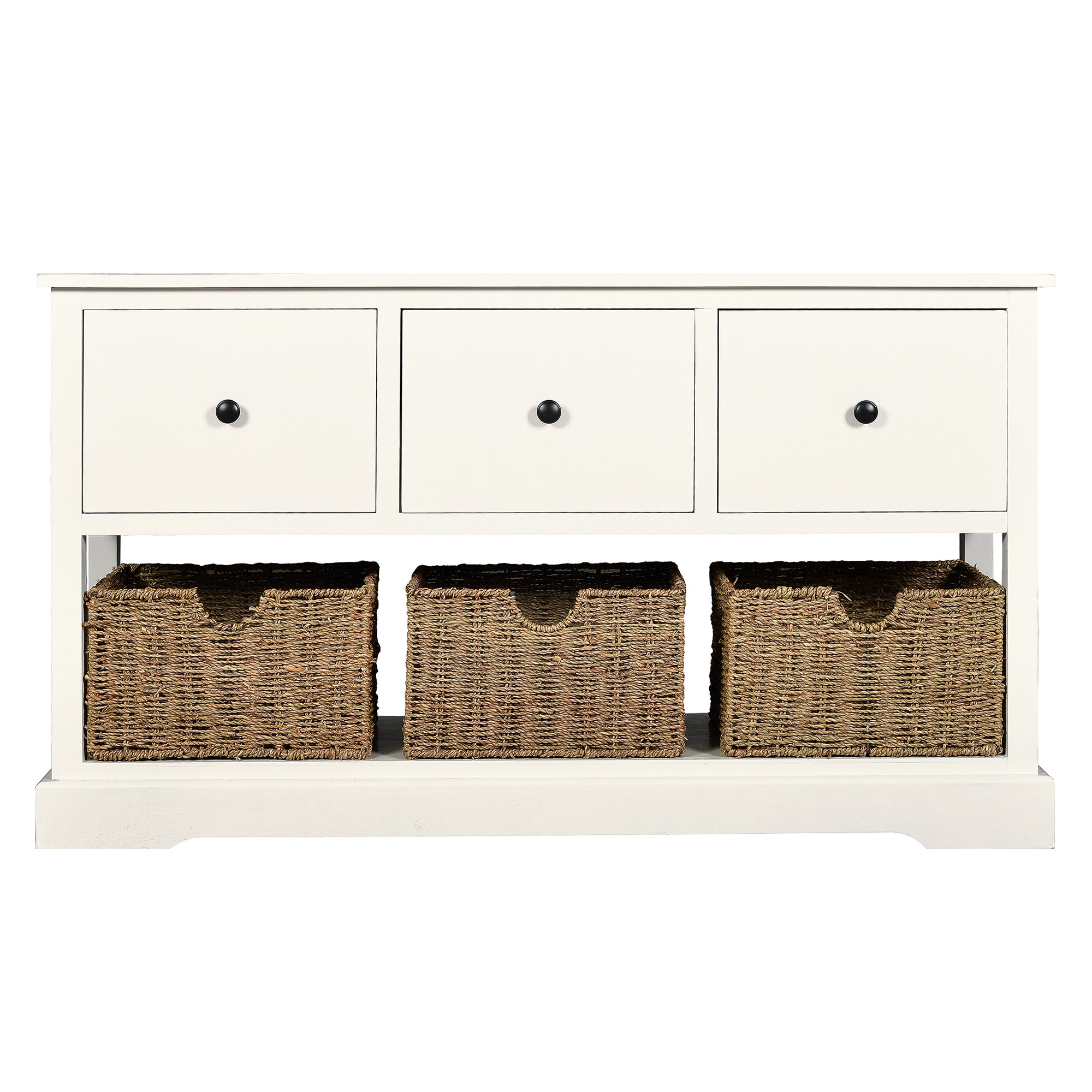Cottage Ivory Console Unit