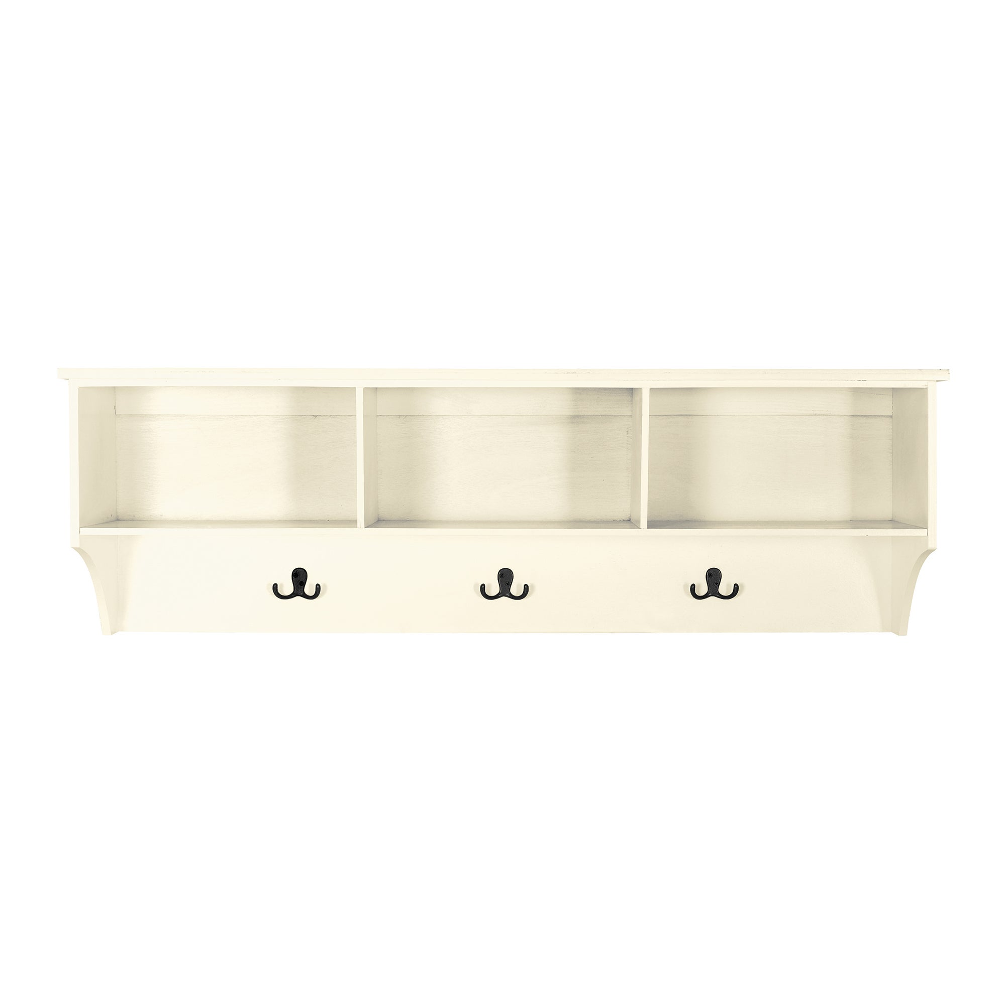 Cottage Ivory Wall Mountable Shelf