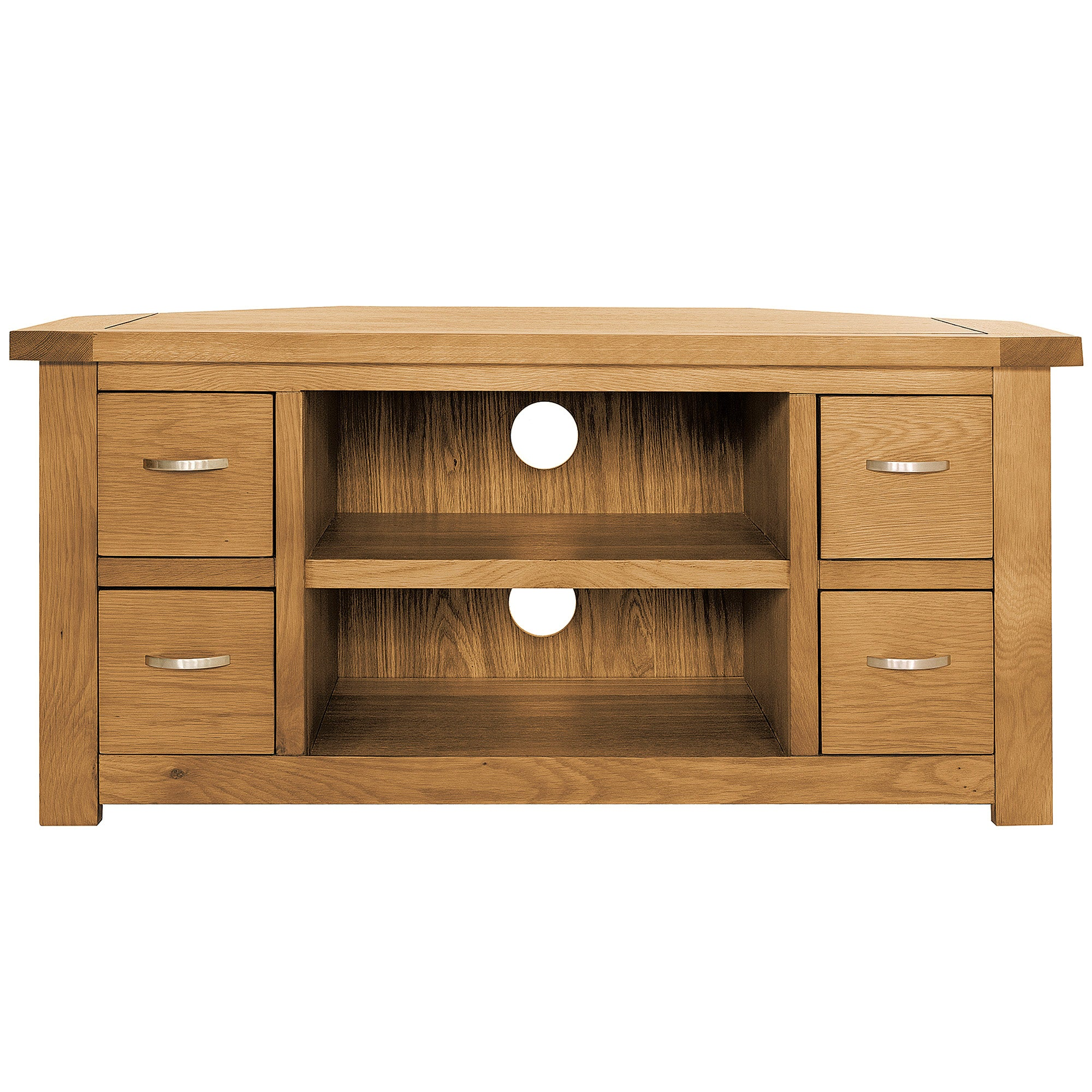 Richmond Oak Corner TV Unit