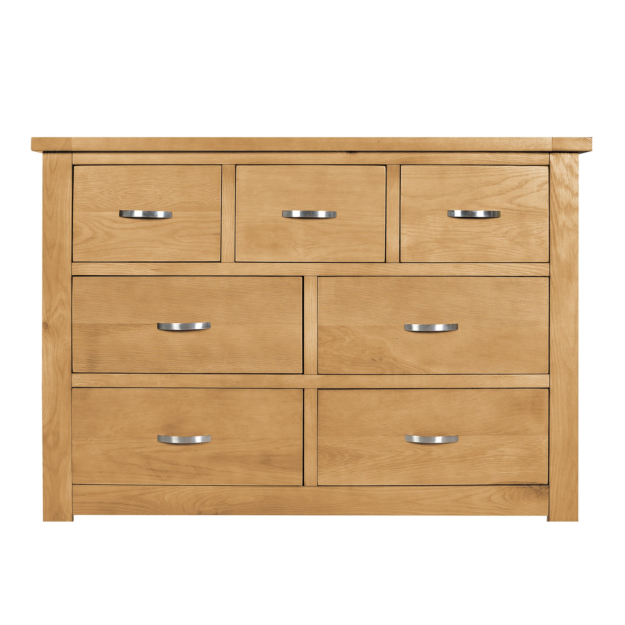 Richmond Oak 7 Drawer Chest