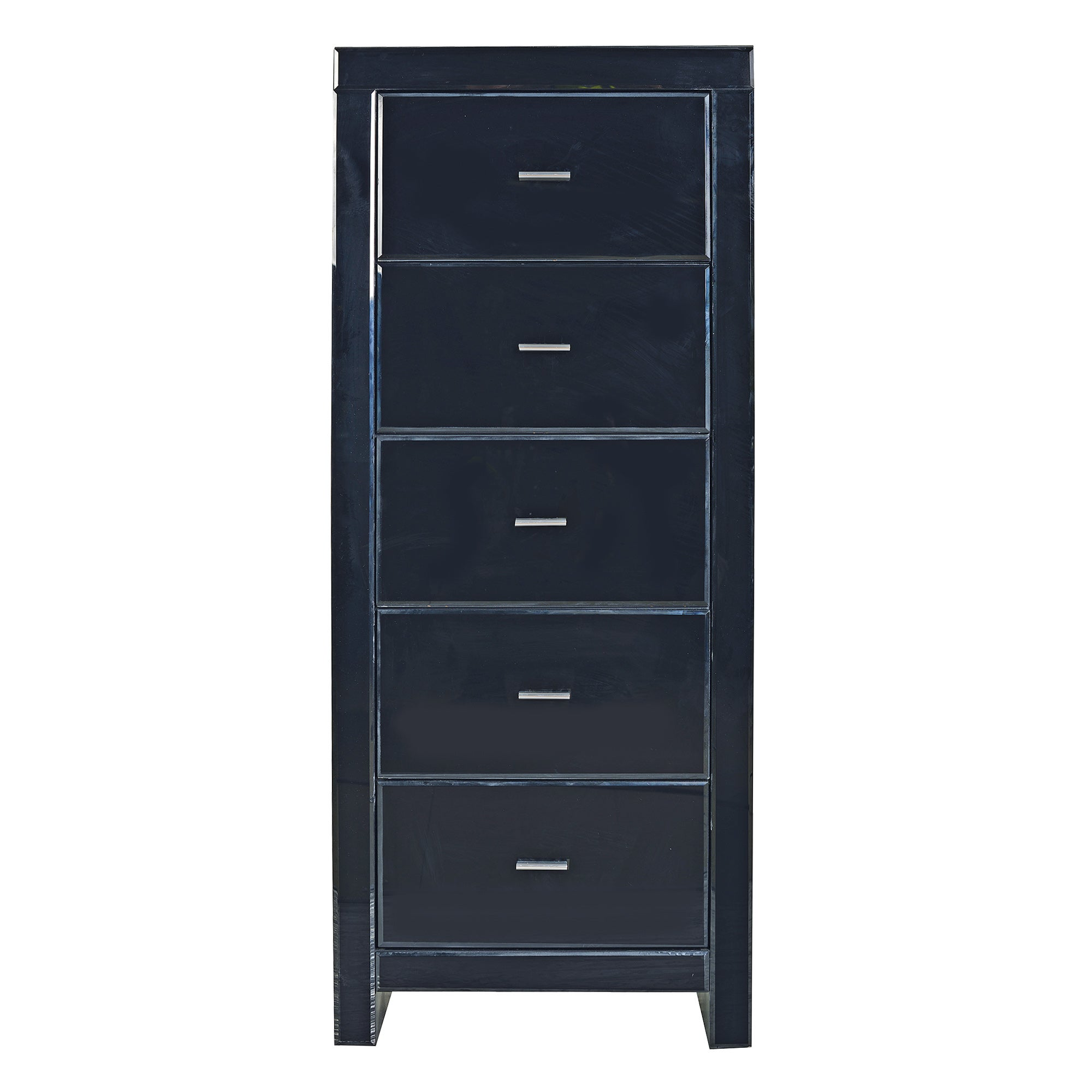 Venetian Black 5 Drawer Chest