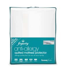 Fogarty Forever Fresh Anti Allergy Mattress Protector