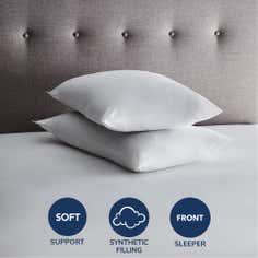Pillows Amp V Shaped Pillows Feather Pillows Amp More Dunelm
