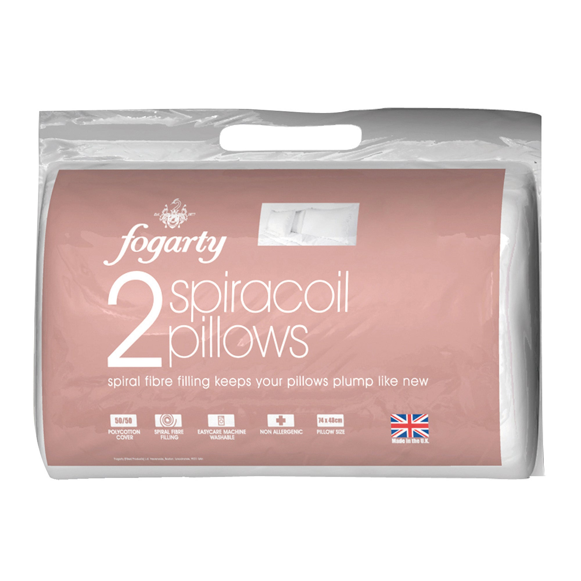 Fogarty Spiracoil Pair of Pillows