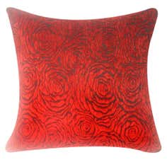 Rose Floral Cushion