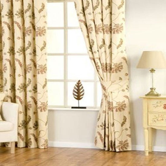 Cream Kalvin Curtain Collection