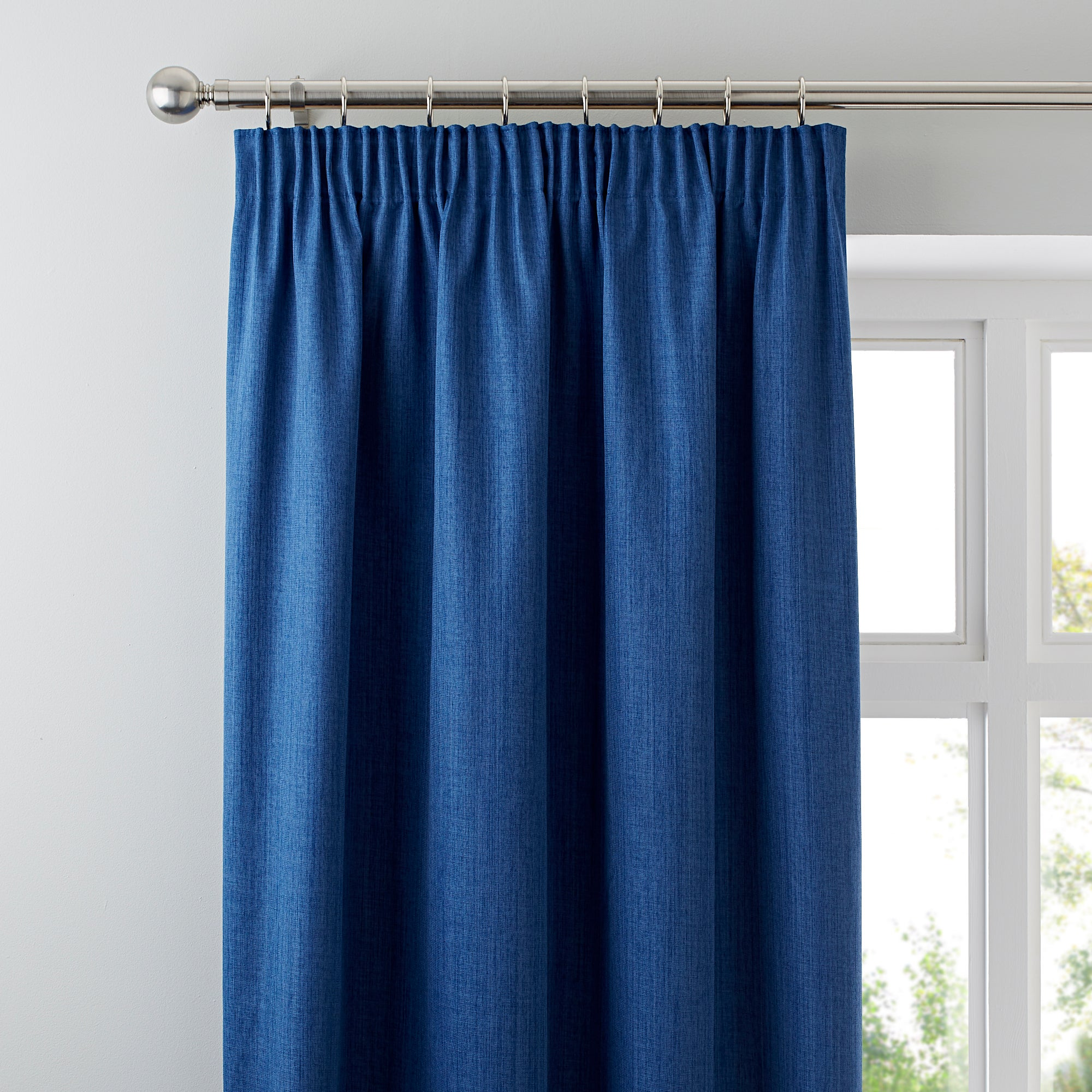 Waters and Noble Blue Solar Blackout Curtains